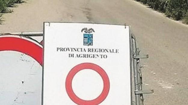 Bivio Piano Gatta, lavori, montaperto, Provinciale 2A, Agrigento, Cronaca