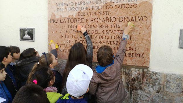 anniversario morte, lapide, Pio La Torre, Rosario Di Salvo, Palermo, Cronaca