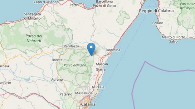 etna, Linguaglossa, terremoto, Catania, Cronaca