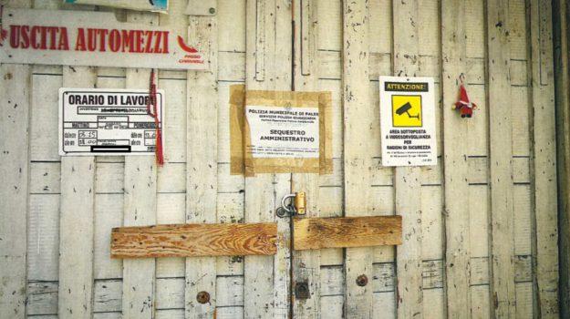 autorimessa abusiva, via Anfuso, via Argenteria vecchia, Palermo, Cronaca