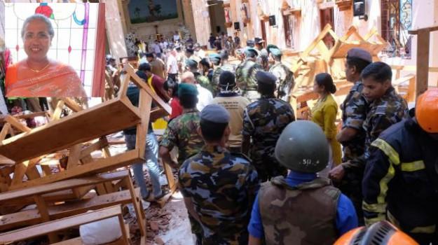 attentati, morta residente Italia, sri lanka, Haysinth Rupasingha, Catania, Mondo