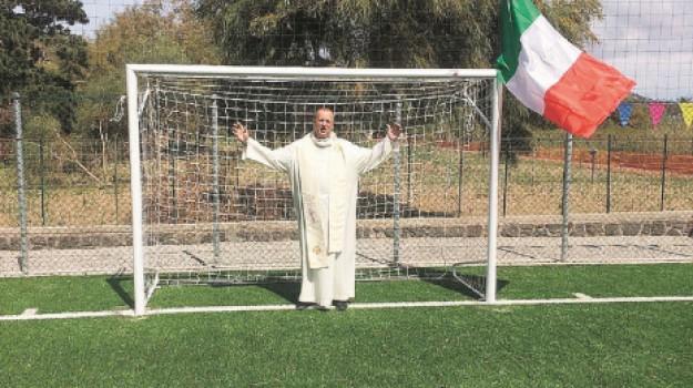 campo di calcio, eolie, vulcano, Messina, Sport