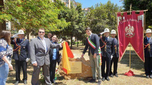 cippo commemorativo, Palermo, Roberto Miranda, Palermo, Cronaca