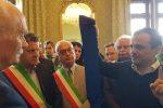 Primo maggio, a Messina De Luca consegna la fascia di sindaco metropolitano