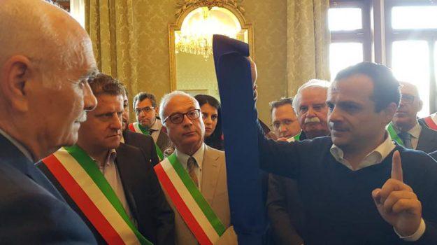 ex province, primo maggio, protesta, Cateno De Luca, Messina, Politica