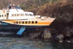 Aliscafo finì sugli scogli a Lipari: comandante condannato per naufragio
