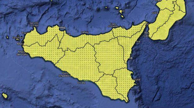 Sicilia, Meteo