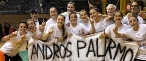La grande festa dell'AndrosBasket, Palermo torna in Serie A1 dopo 29 anni