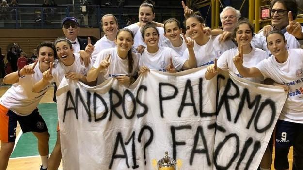 AndrosBasket, serie a1, Adolfo Allegra, Santino Coppa, Palermo, Sport