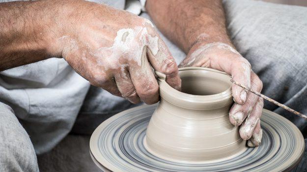 ceramica, Sciacca, Francesca Valenti, Agrigento, Cultura