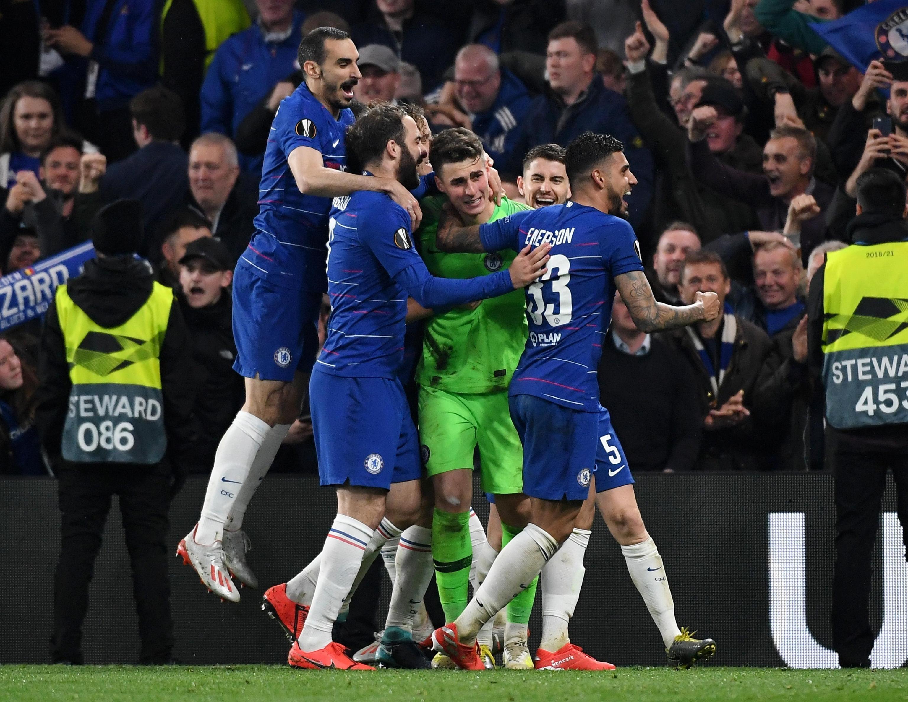 Chelsea-Arsenal In Finale Di Europa League. Quattro