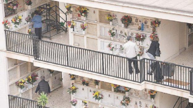 Cimitero, furti, Caltanissetta, Cronaca