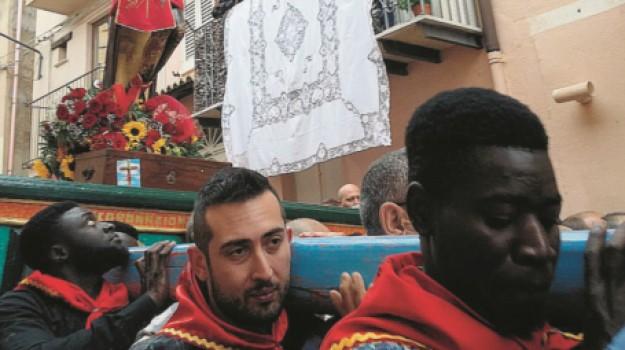 cristo nero, siculiana, villa sikania, Agrigento, Cronaca