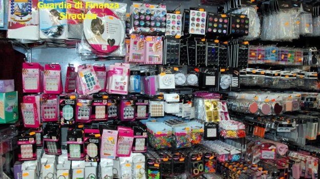 augusta, prodotti cinesi, sequestro, Siracusa, Cronaca