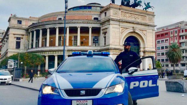polizia, rapine, spaccata, Alessandro Castellese, Nunzio Lo Gelfo, Palermo, Cronaca