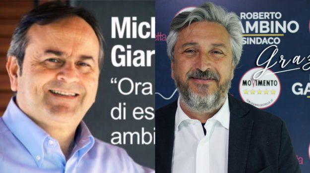 Amministrative a Caltanissetta, Michele Giarratana, Roberto Gambino, Caltanissetta, Politica