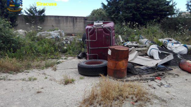 augusta, capannone, sequestro, Siracusa, Cronaca
