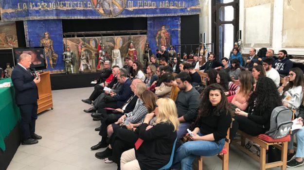 festino di santa rosalia, incontro, Museo internazionale delle marionette Antonio Pasqualino, Palermo, Cultura