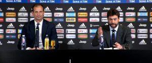 """L'addio di Allegri: """"Momento giusto per lasciarsi"""". Agnelli: """"Ha fatto la storia della Juventus"""""""