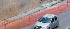 Palermo, restringimento e lavori nel sottopasso di via Crispi dopo i calcinacci crollati