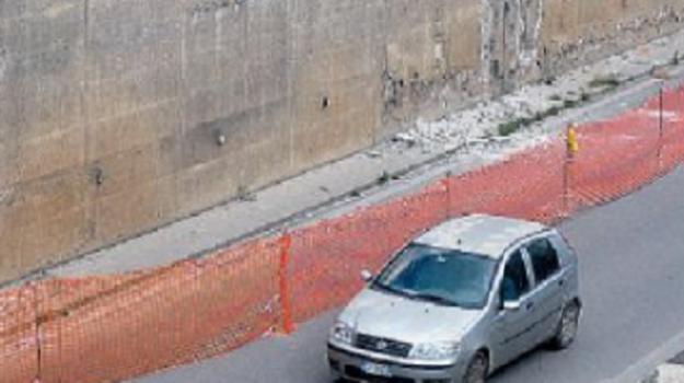 calcinacci, sottopasso di via Crispi, TRAFFICO, Palermo, Cronaca