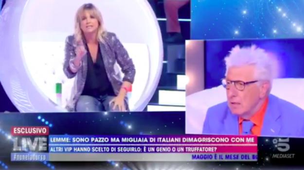 dieta, lite Barra Lemme, Live-Non è la D'Urso, Alberico Lemme, Francesca Barra, Sicilia, Società