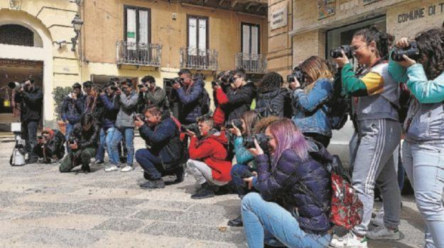 fotografi, scuola Biagio Amico, studenti, Trapani, Cultura
