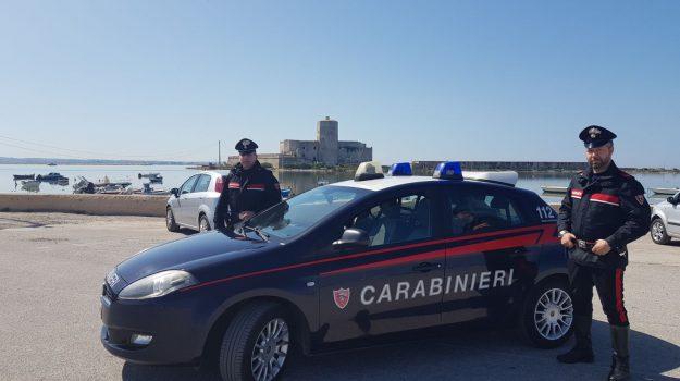 droga, erice, minaccia, oltraggio pubblico ufficiale, Vincenzo Via, Trapani, Cronaca