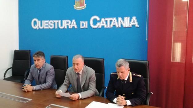 Squadra mobile di Catania, Carmelo Zuccaro, Marco Basile, Catania, Cronaca