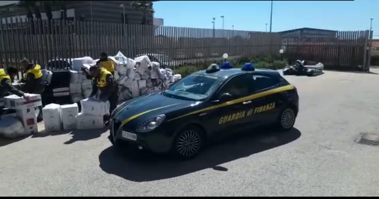 Mazara, Sequestrate 6 Tonnellate Di Sigarette Di