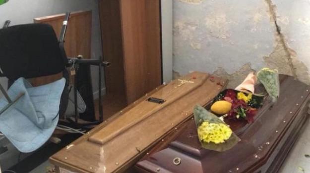 cimiteri, Aldo Penna, Antonino Randazzo, Leoluca Orlando, Roberto D'Agostino., Palermo, Cronaca