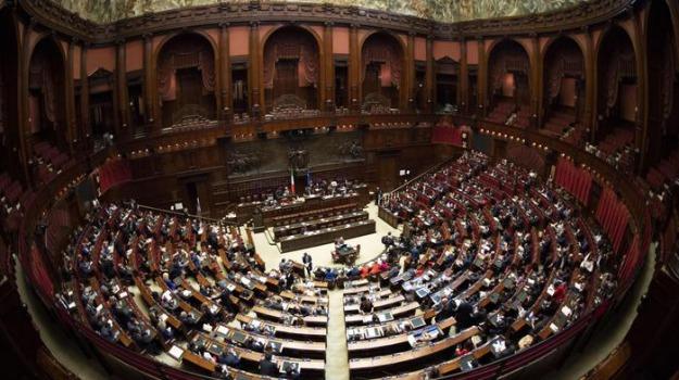camera, ex province, Sicilia, Politica