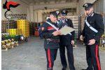 Lavoro nero, controlli al mercato di Vittoria: multa di 6 mila euro e una chiusura