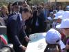 Falcone, Conte e Salvini nel luogo della strage di Capaci: il video dal Giardino della memoria
