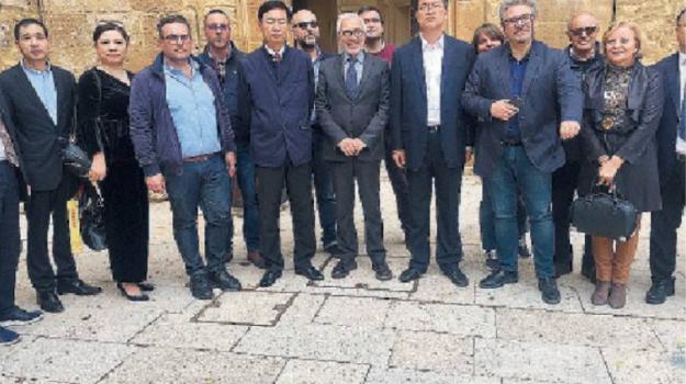 delegazione cinese, ex aeroporto castelvetrano, Enzo Alfano, Trapani, Cronaca