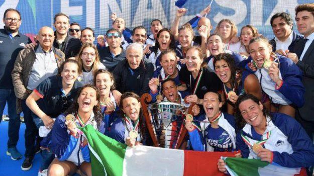 catania campione italia pallanuoto, pallanuoto femminile, Catania, Sport