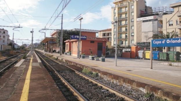 capo d'orlando, sottopassaggio, stazione ferroviaria, Messina, Cronaca