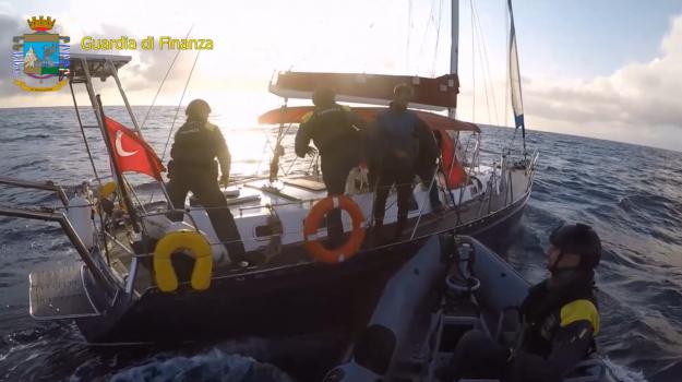 canale di sicilia, libeccio international, nave, operazione solen, sequestro, Sicilia, Cronaca
