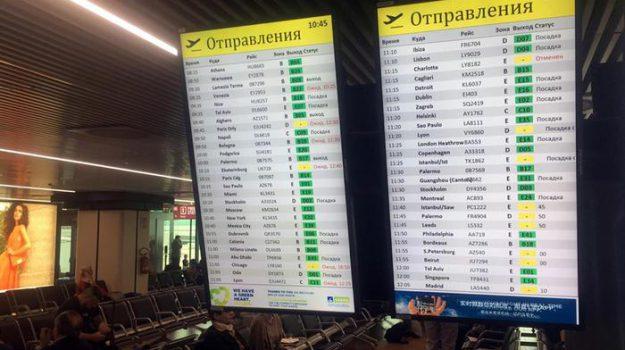 aeroporto fiumicino, alitalia, Sicilia, Cronaca