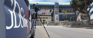GDS Live davanti allo stadio Barbera