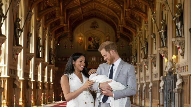 royal baby, Archie Harrison, Harry Windsor, Meghan Markle, Sicilia, Mondo