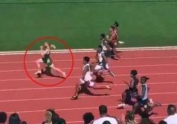 Il 18enne più veloce del mondo: scende sotto il muro dei 10 secondi Matthew Boling, soprannominato «il fulmine bianco», ha corso i 100 metri in 9''98 - CorriereTV