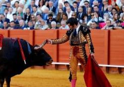 Il matador asciuga le lacrime del toro prima di finirlo: il gesto indigna la rete La scena durante la corrida alla Fiera di Siviglia - CorriereTV