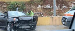 Incidente sulla Palermo-Mazara, auto distrutta: ferito un automobilista