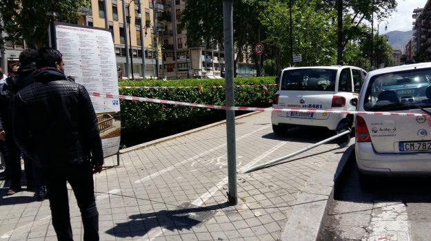 incidente, insegnante Garibaldi, via Libertà, Palermo, Cronaca