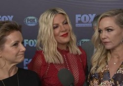 Luke Perry, il ricordo degli amici e colleghi di Beverly Hills  Il cast di «90210» riunito a New York in vista del reboot della famosa serie tv - LaPresse