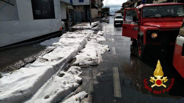 Maltempo, soccorsi catania, Catania, Cronaca