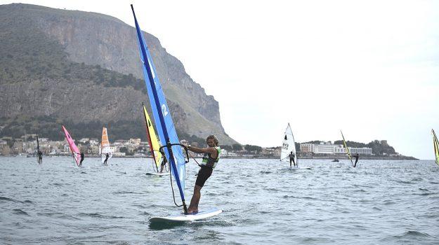 mondello, windsurf, Marco Casagrande, Sicilia, Sport