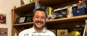 Il vice premier e ministro dell'Interno Matteo Salvini