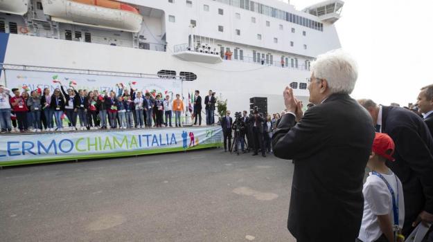 23 maggio, Anniversario Falcone, nave legalità, strage di capaci, Giovanni Falcone, Sergio Mattarella, Sicilia, Cronaca
